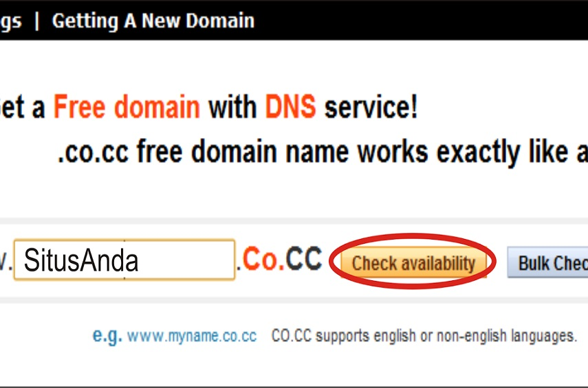 Domain co cc